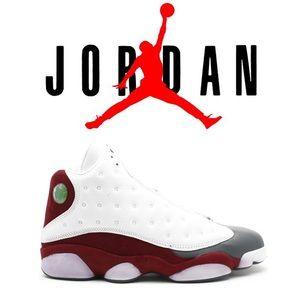 2004 Jordan 13 Flint Grey Toe Team Red White